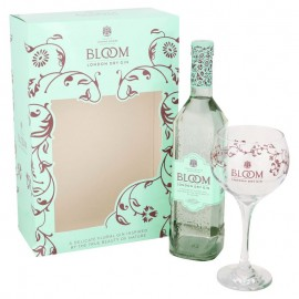 Bloom London Dry Gin + Glass
