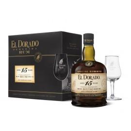El Dorado 15 Y + 2 Glasses
