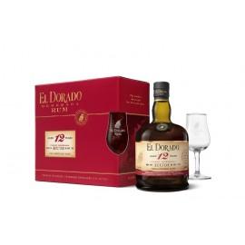 El Dorado 12 Y + 1 Glass